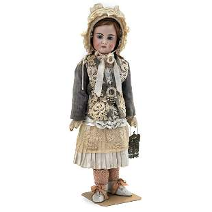 Belton-Type Bisque Child Doll for the French Market, c.
