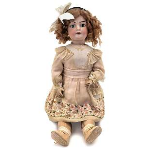 Late French Bisque Bébé Doll, c. 1920