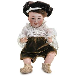 Bisque Character Doll by S.F.B.J., c. 1915