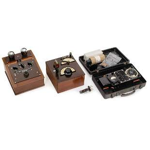 Two-Tube Receiver, Detector Receiver and Measuring