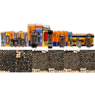 Collection of approx. 700 E-Series Tubes