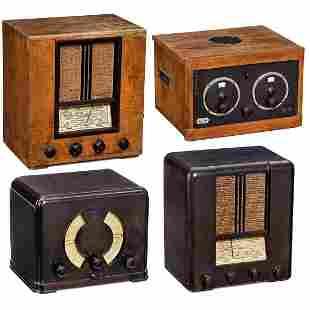 4 Mende Radio Receivers