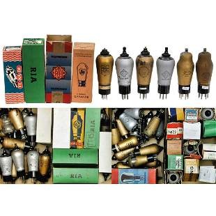 Large Collection of Tubes of the RENS Series and