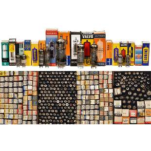 Collection of approx. 1000 P-Series Tubes
