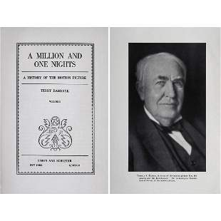 """First Edition: """"A Million and one Nights"""", 1926"""