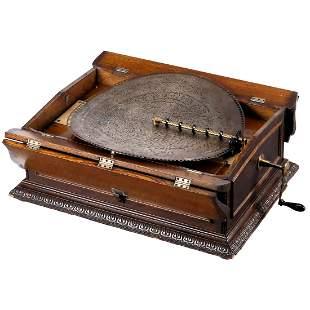 Regina No. 26 Folding-Top Disc Musical Box c. 1902