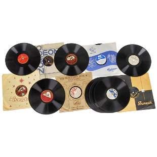 18 Shellac Records of Heinz Rühmann, Hans Albers und