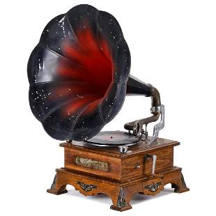 Symphonion Coin-Operated Gramophone, c. 1910