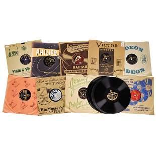17 Shellac Records of Heinz Rühmann, Hans Albers und