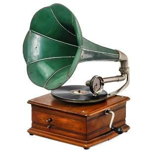 Small Thorens Horn Gramophone, c. 1914