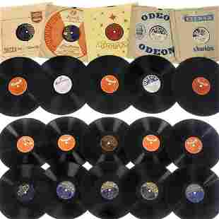 66 German Shellac Records of the 1950s