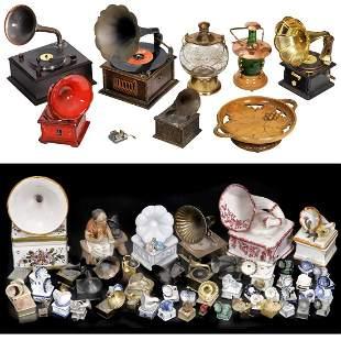 Decorative Gramophones and Souvenir Music Boxes