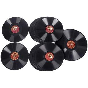 25 Comedian Harmonists (and Successors) 78 rpm Records,