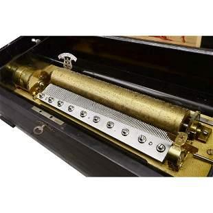 Sacred Airs Musical Box by Mojon, Manger & Co., c. 1890