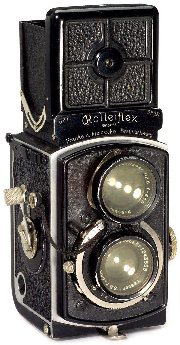 1: Rollei Rolleiflex 4 x 4, 1931