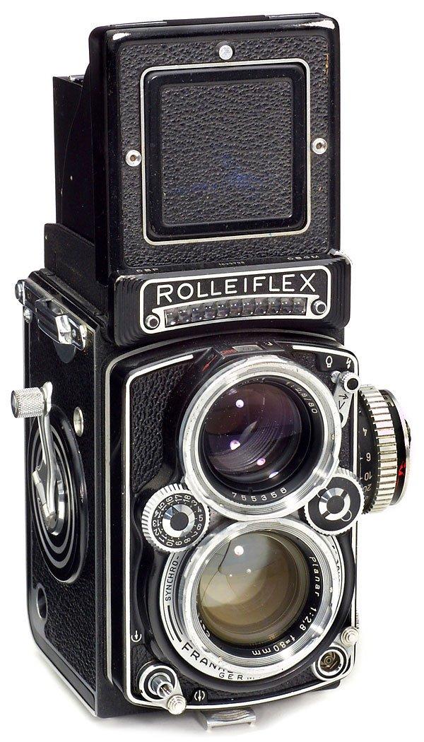 2: Rollei Rolleiflex 2,8 E, 1956
