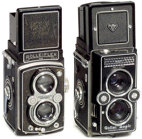 4: Rollei Rolleiflex und Rolleimagic