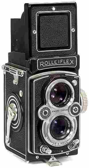 Rollei Rolleiflex 3,5 B, 1954