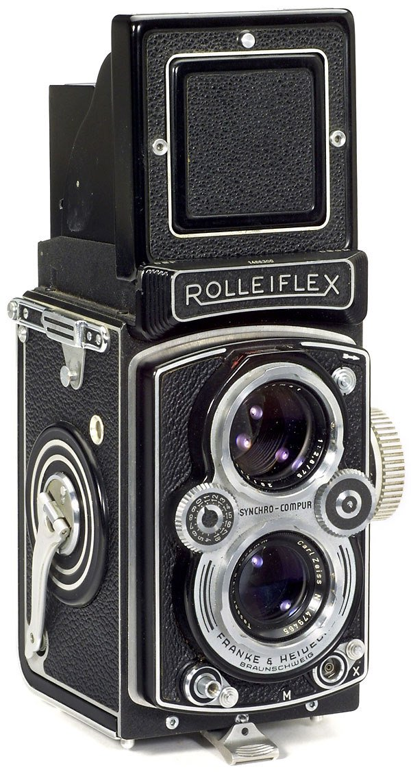 5: Rollei Rolleiflex 3,5 B, 1954