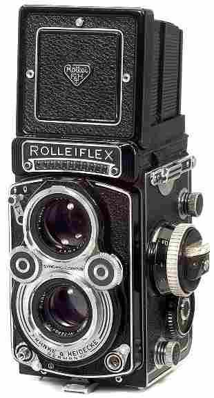 Rollei Rolleiflex 3,5 F, 1958