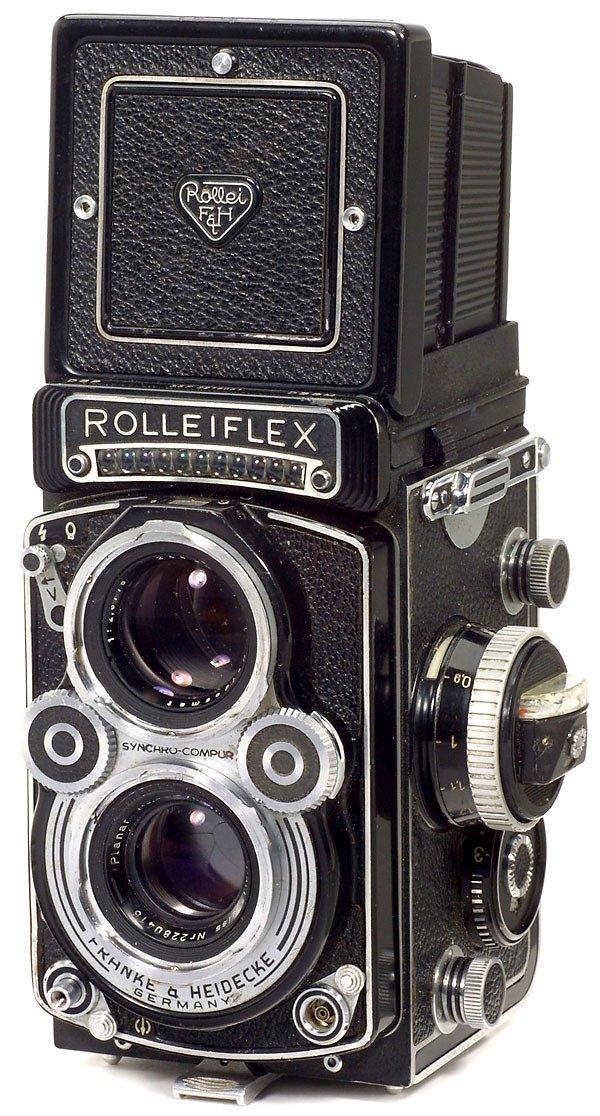 6: Rollei Rolleiflex 3,5 F, 1958