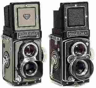 Rolleiflex T und Rolleiflex 3,5 B, 1958