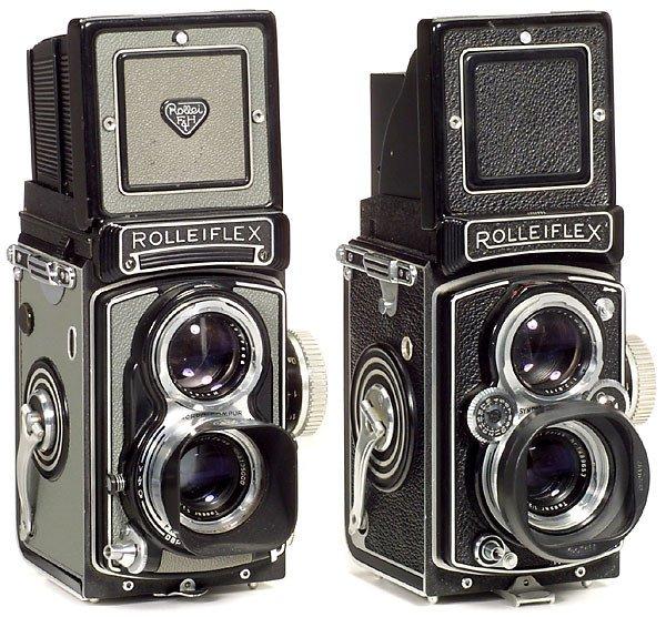 7: Rolleiflex T und Rolleiflex 3,5 B, 1958