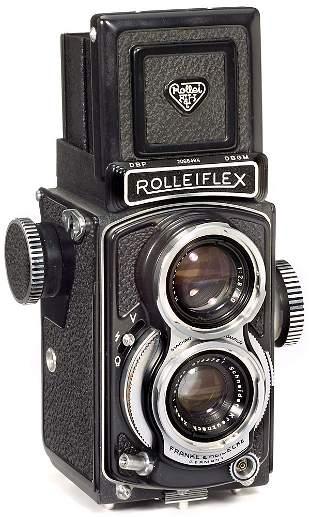 Rollei Rolleiflex 4 x 4, 1957