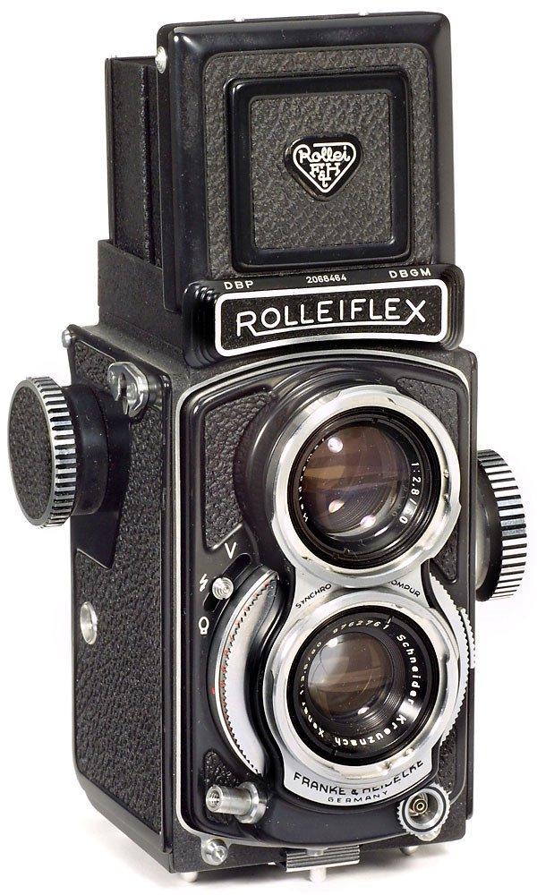 8: Rollei Rolleiflex 4 x 4, 1957