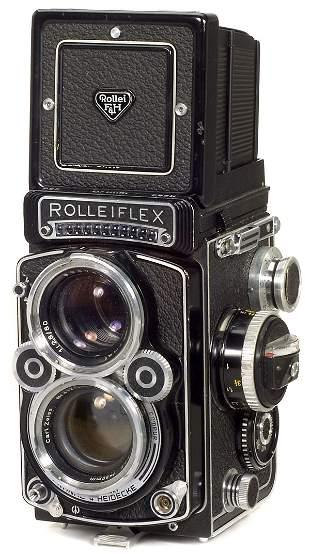 Rollei Rolleiflex 2,8 F, 1960
