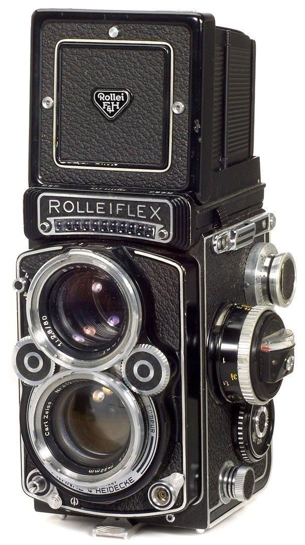 9: Rollei Rolleiflex 2,8 F, 1960