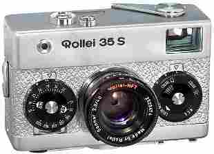 Rollei 35 S (Silber/Silver), 1978