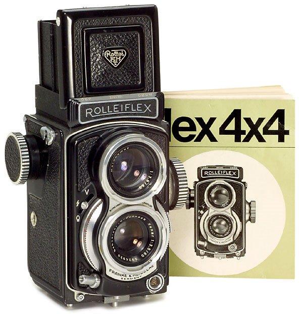12: Rollei Rolleiflex 4 x 4, 1963