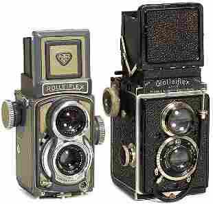 Rollei: 2 Rolleiflex Cameras