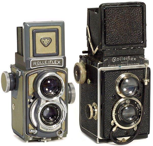 13: Rollei: 2 Rolleiflex Cameras