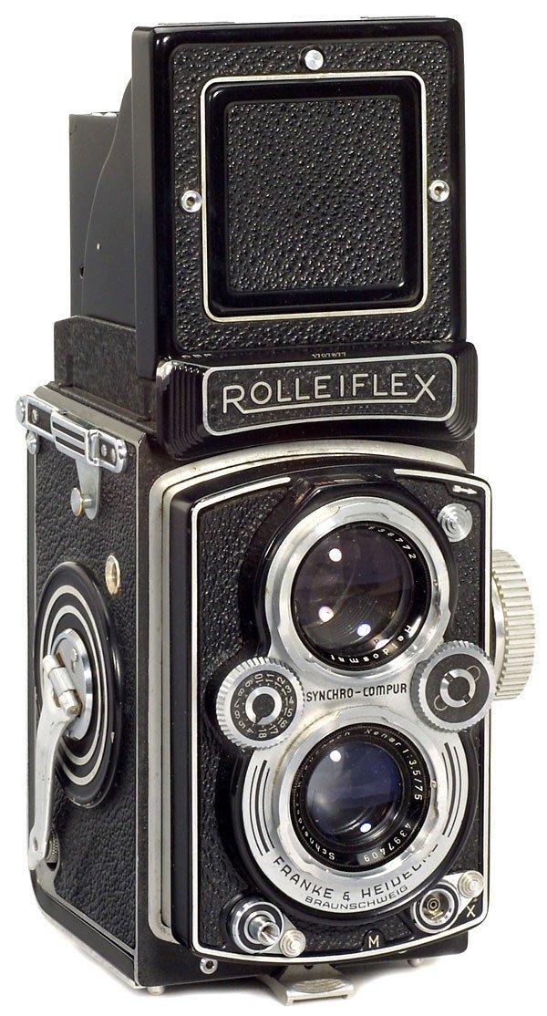 15: Rollei Rolleiflex 3,5 B, 1954