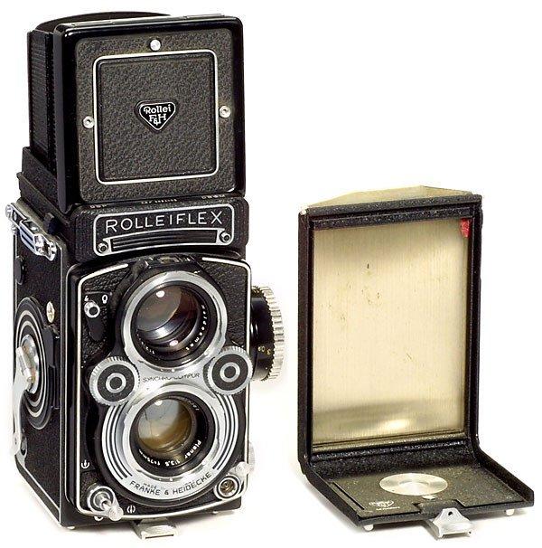 16: Rollei Rolleiflex 3,5 F, 1960