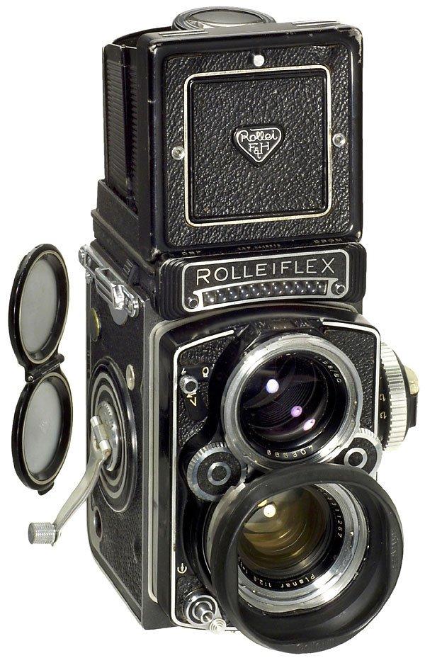 17: Rollei Rolleiflex 2,8 F, 1960