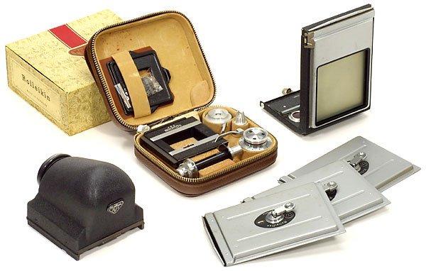 21: Rollei Rolleiflex Zubehör - Accessories
