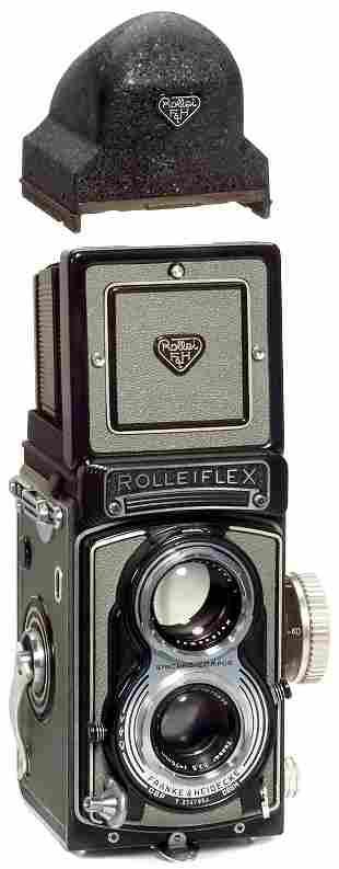 Rollei Rolleiflex T und Zubehör, 1958