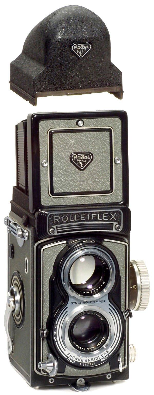 22: Rollei Rolleiflex T und Zubehör, 1958