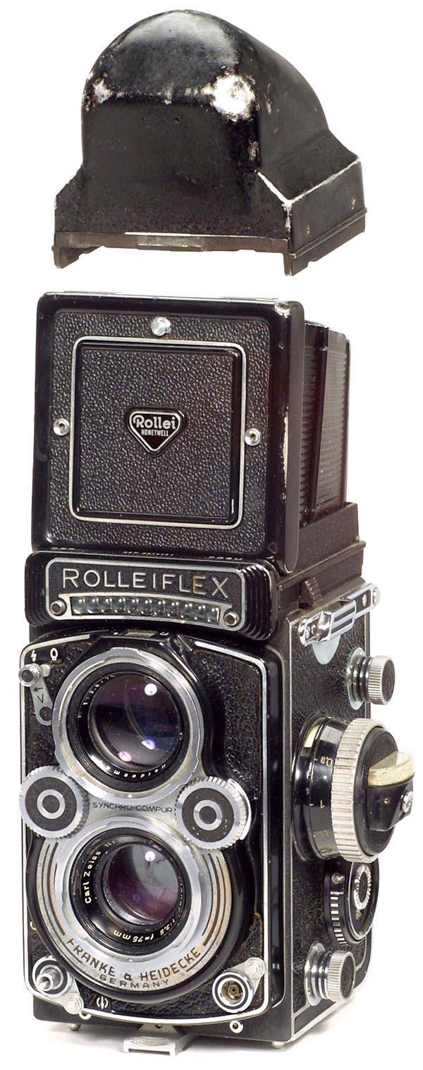 23: Rollei Rolleiflex 3,5 F mit Penta-Prisma, 1960