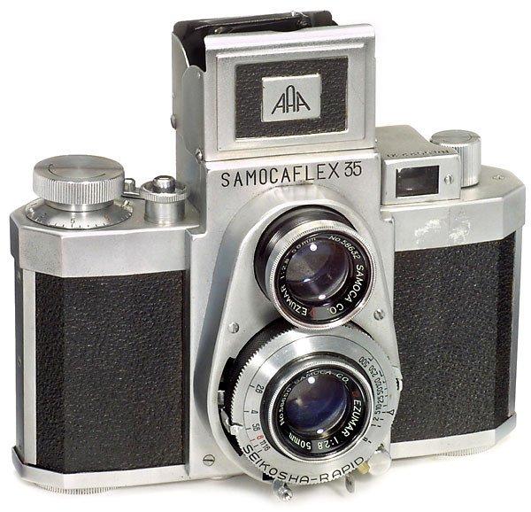 65: 35mm TLR Samocaflex 35, 1955