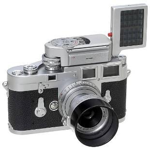 Early Leica M3 with Elmar 2,8/5 cm, c. 1955