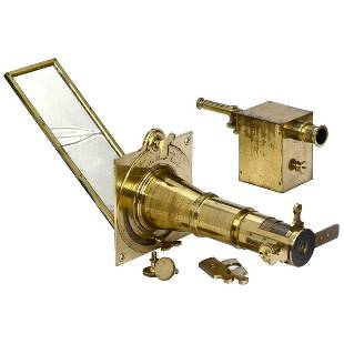 Solar Microscope with Projection Device by Dollond, c.
