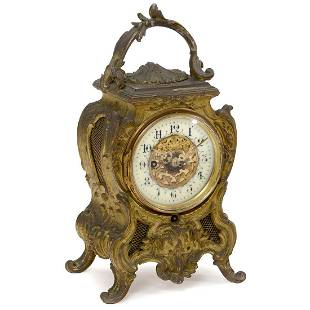 Phonograph Alarm Clock by Lioret and Farcot, 1896