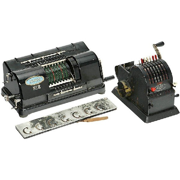 1: 3 Calculators for Spare Parts and Restoration