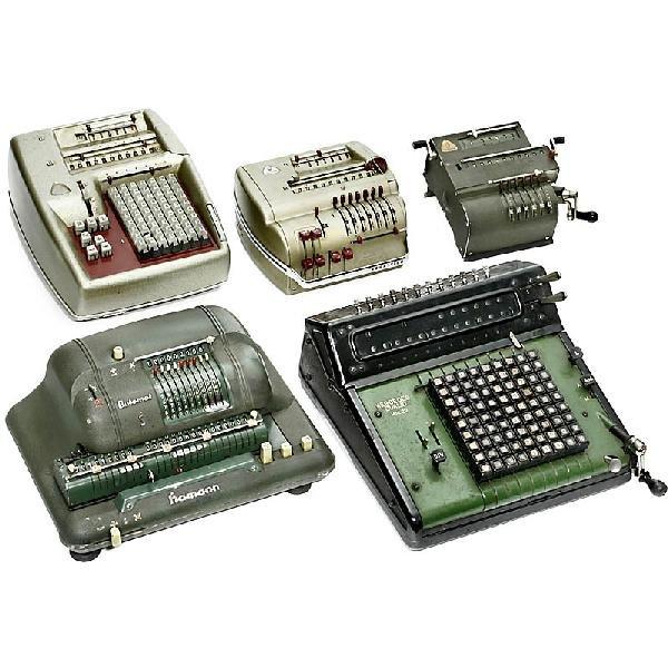 11: 5 Calculation Machines