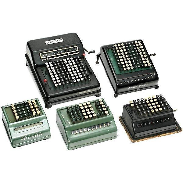 12: 5 Calculation Machines