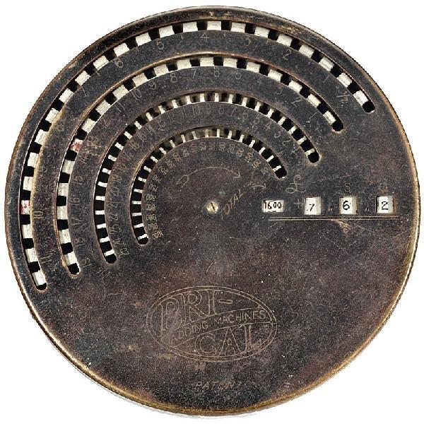 "21: ""BriCal - British Calculator Mod. B"", 1905"